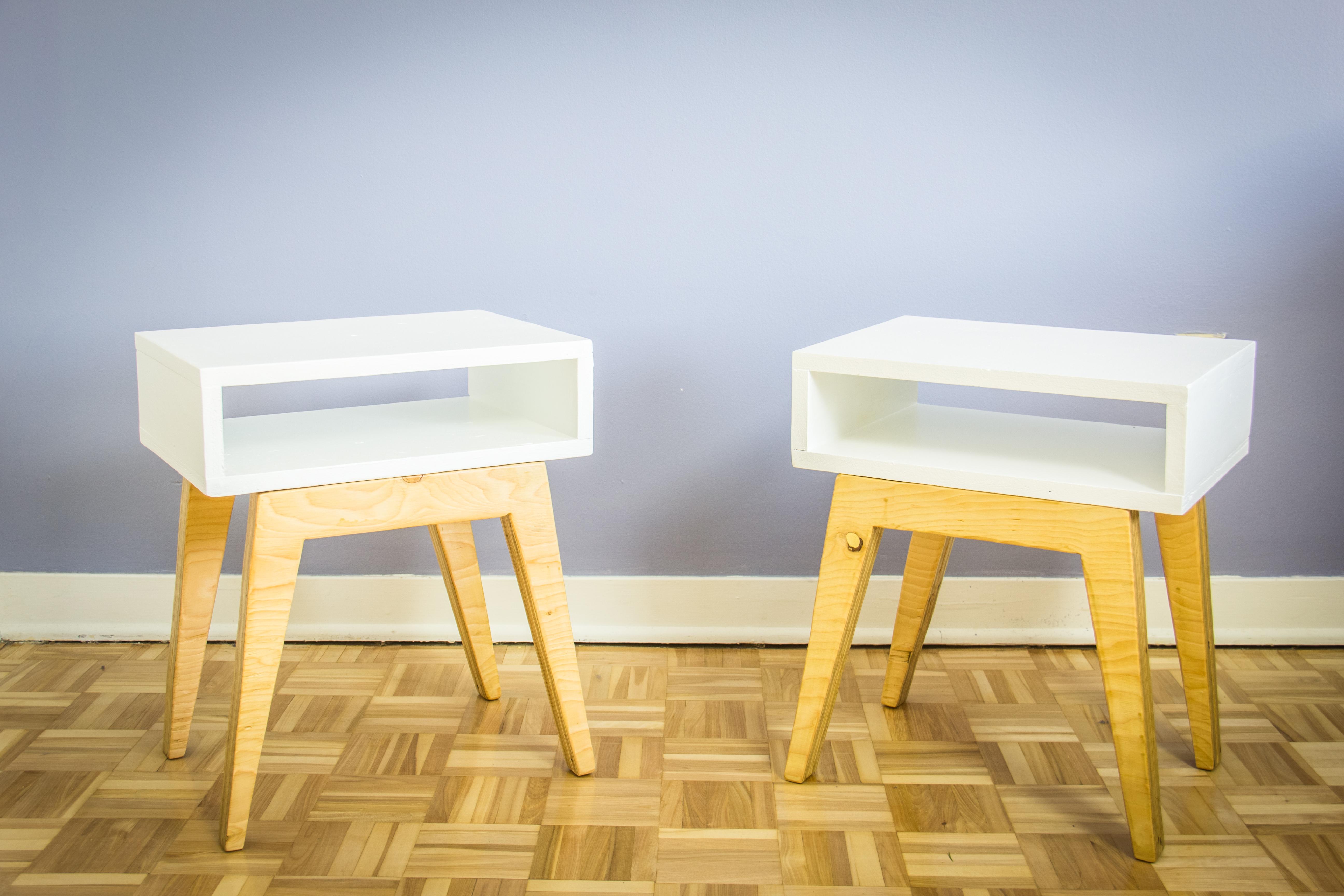 Fabriquer des tables de chevet scandinaves