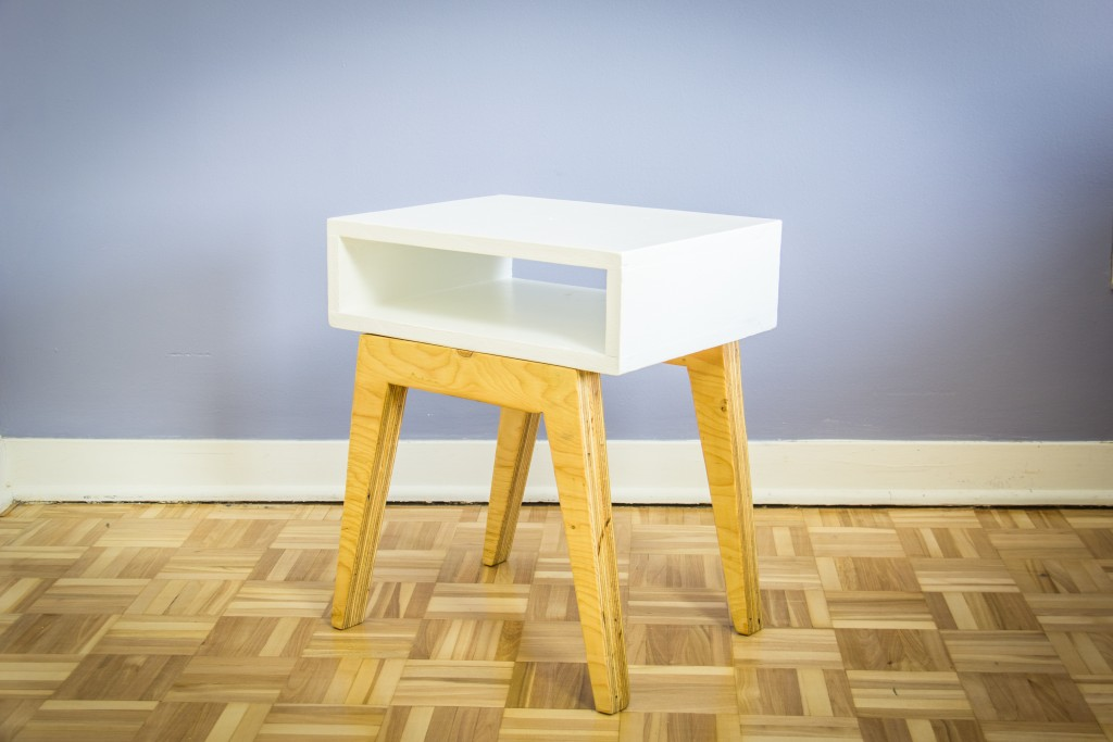 Fabriquer une Table de nuit scandinave