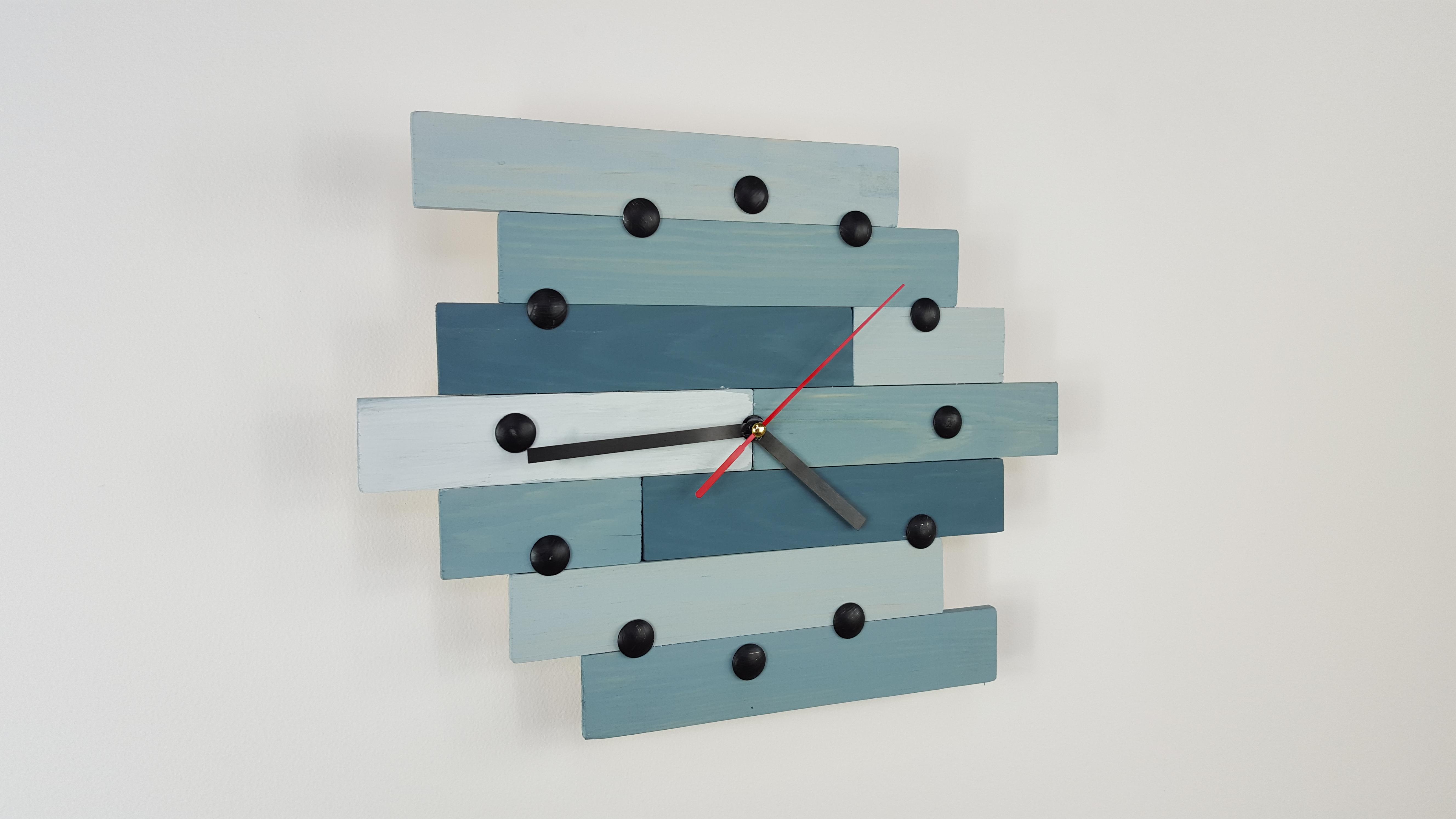 Comment faire une horloge en bois – EP12