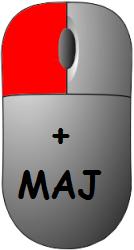 Left_Click + Maj