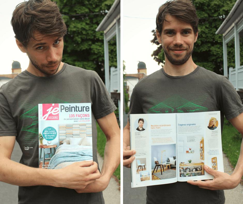 """VisserMalin dans le magazine """"Je décore"""""""