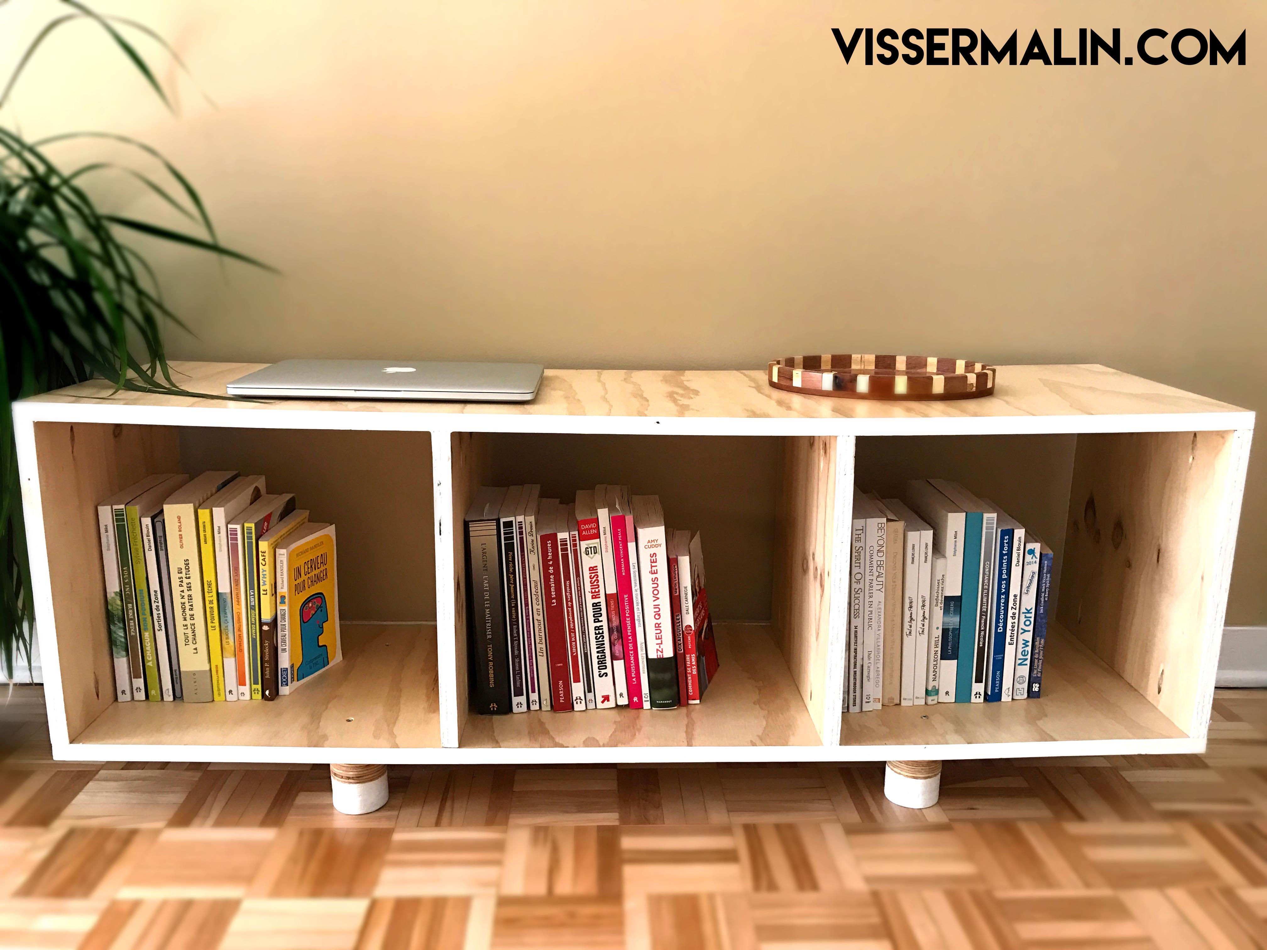 Comment fabriquer un meuble bas de salon
