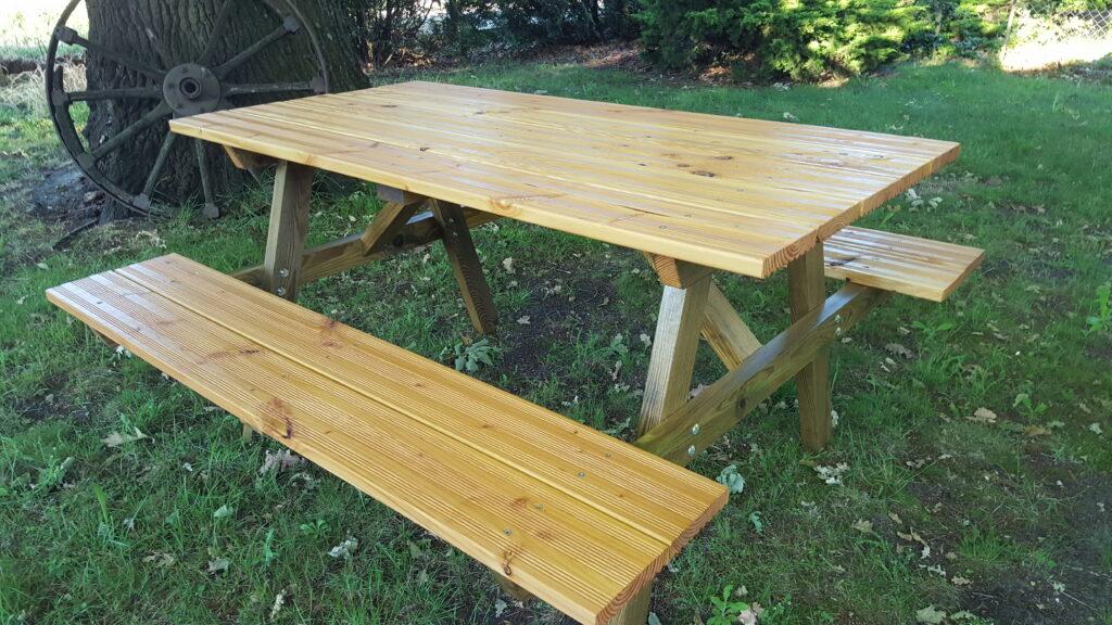 Comment fabriquer une table pique-nique |