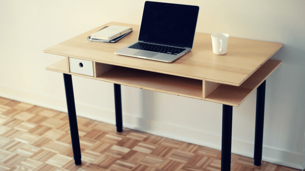 comment fabriquer un bureau. Black Bedroom Furniture Sets. Home Design Ideas